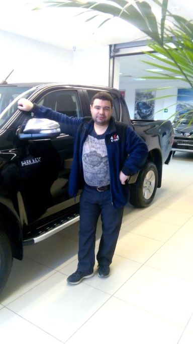 Toyota Hilux Pick Up, 2015