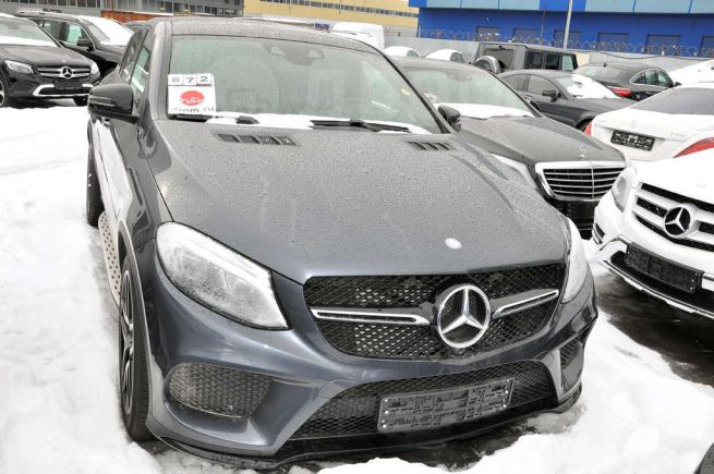 Mercedes-Benz GLE Coupe, 2017 год, 5 550 000 руб.