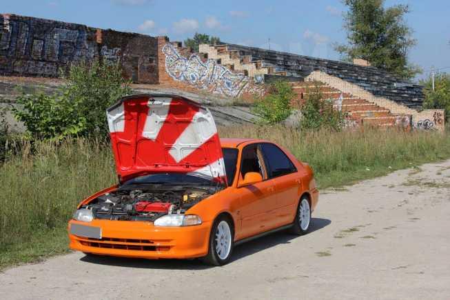 Honda Civic, 1992 год, 160 000 руб.