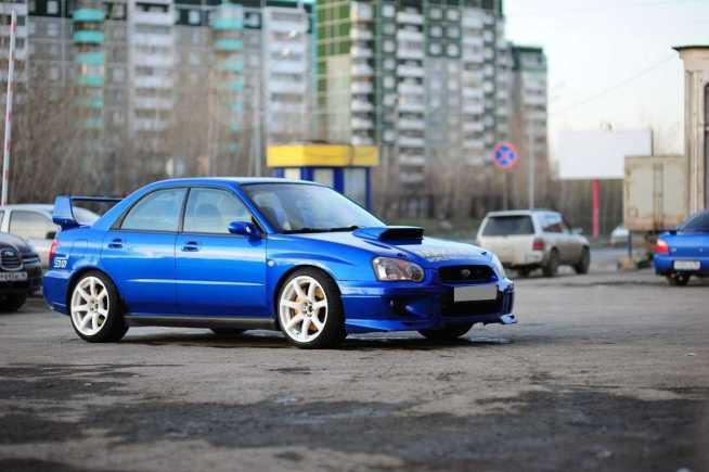 Subaru Impreza WRX STI, 2003 год, 470 000 руб.