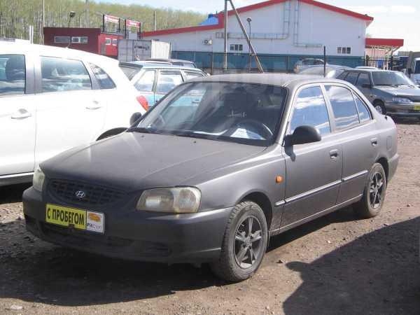 Hyundai Accent, 2005 год, 162 000 руб.