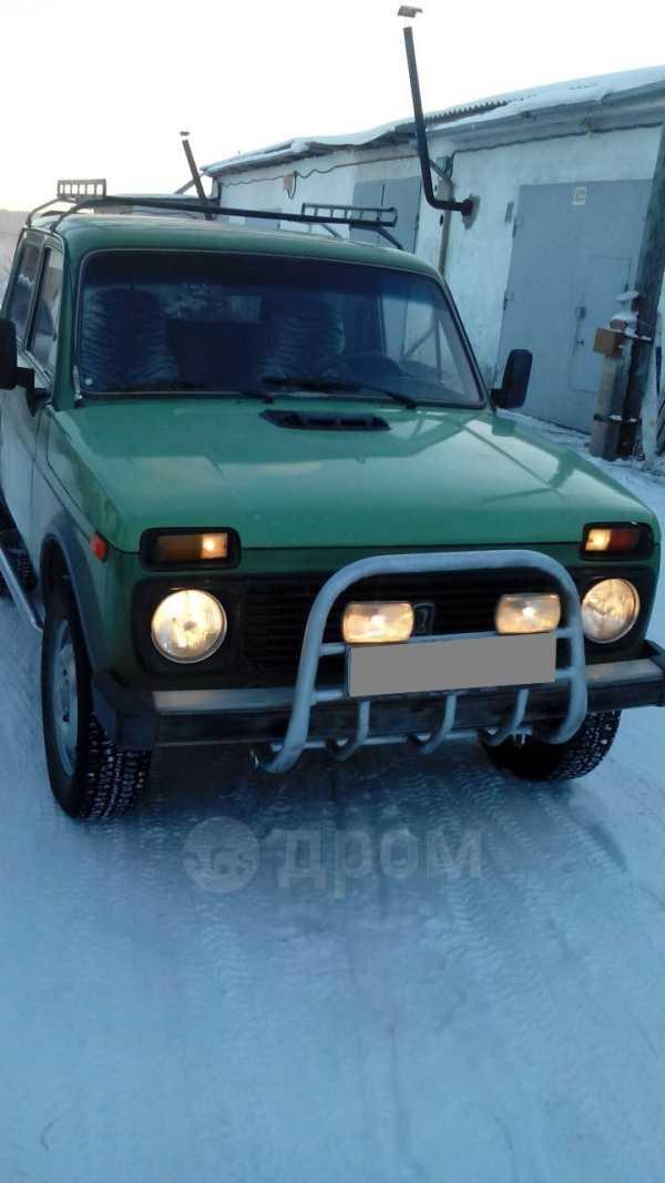 Лада 4x4 2121 Нива, 1992 год, 75 000 руб.