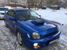 Новосибирск Impreza WRX 2001