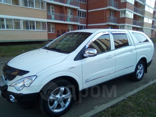 SsangYong Actyon Sports, 2010 год, 630 000 руб.