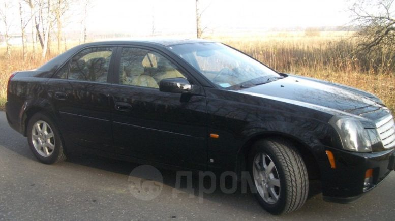 Cadillac CTS, 2002 год, 550 000 руб.