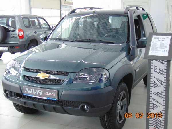 Chevrolet Niva, 2018 год, 724 000 руб.