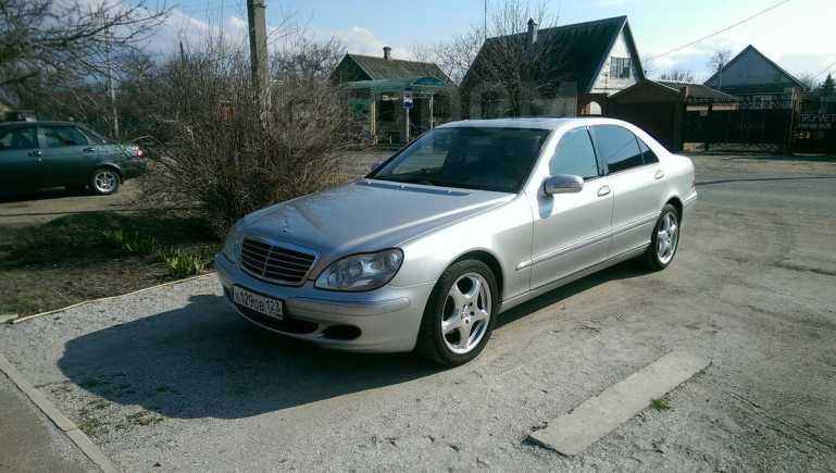 Mercedes-Benz S-Class, 2004 год, 590 000 руб.