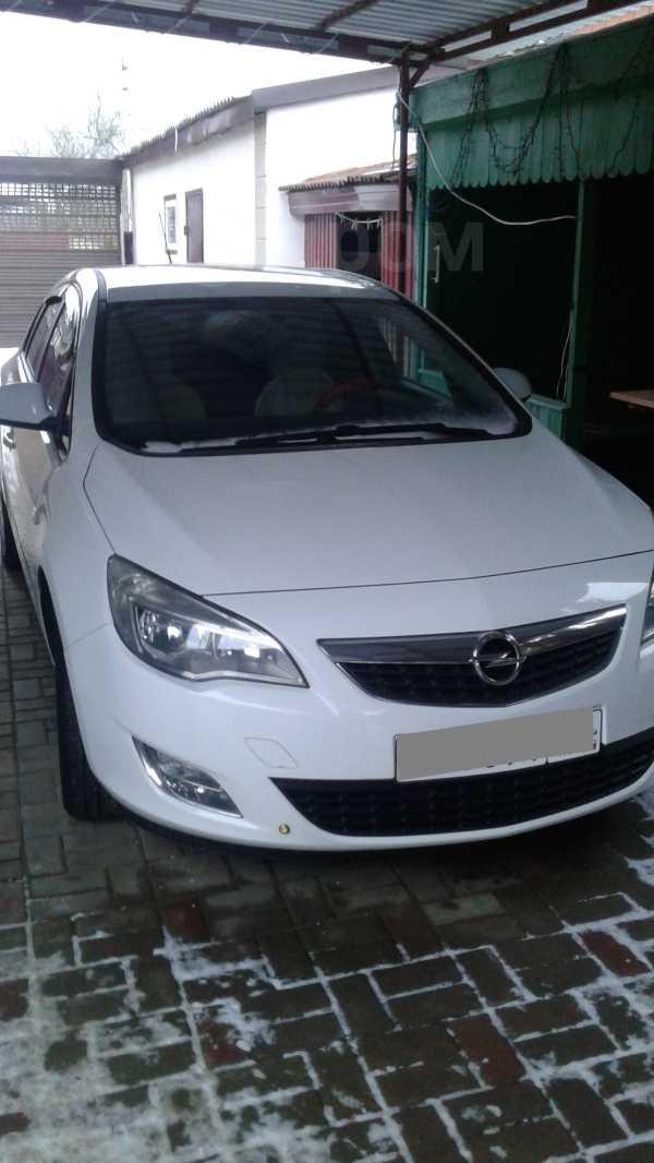 Opel Astra, 2011 год, 550 000 руб.