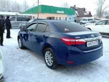 Тавда Corolla 2014
