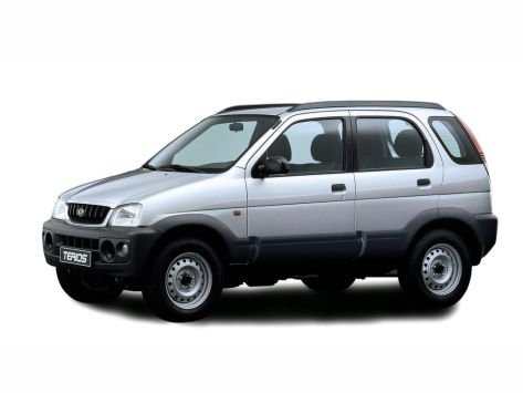 Daihatsu Terios (J102, J122) 06.2000 - 12.2005