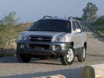 Hyundai Santa Fe рестайлинг, 1 поколение, 08.2004 - 03.2006, Джип/SUV 5 дв.