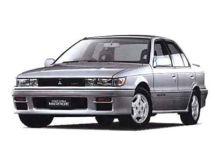 Mitsubishi Mirage 1988, седан, 3 поколение