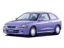 Mitsubishi Mirage рестайлинг 1997, хэтчбек 3 дв., 5 поколение