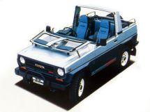 Toyota Blizzard 1984, джип/suv 3 дв., 2 поколение, LD20