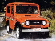 Toyota Blizzard 1980, джип/suv 3 дв., 1 поколение