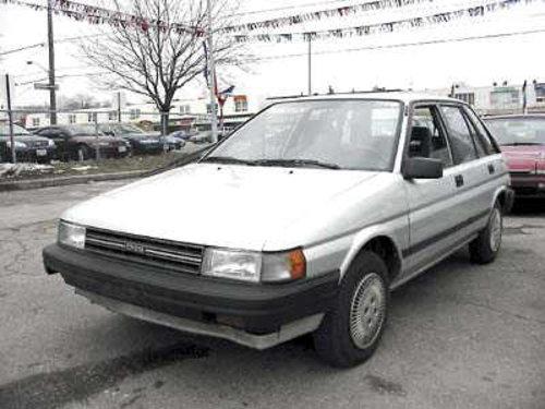 Toyota Tercel 1988 - 1990