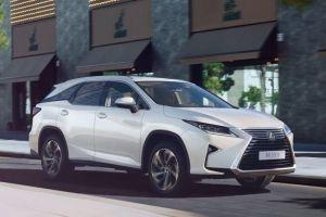Lexus начал продажи семиместного кроссовера RX: от 3,8 млн рублей