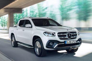 Пикап Mercedes-Benz X-Class будет стоить от 2,89 млн рублей
