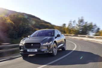 Продажи Jaguar I-Pace стартуют летом.