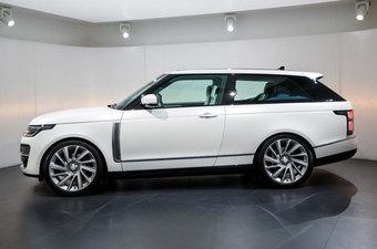 В США Range Rover SV Coupe будет стоить в два раза дороже четырехдверной машины в аналогичном исполнении.