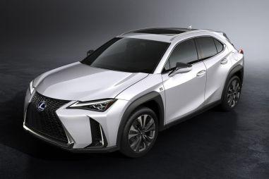 Компактный кроссовер Lexus UX представлен официально