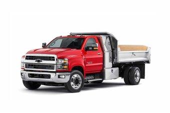 С новой линейкой GM возвращается в сегмент среднетоннажных грузовиков.