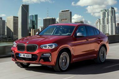 Новый BMW X4 будет стоить от 3,35 млн рублей