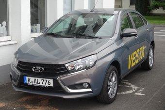 В Германии и Австрии Vesta пока продается только в кузове седан.