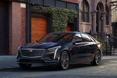 Обновленный Cadillac CT6 получил 550-сильный V8 с двойным турбонаддувом