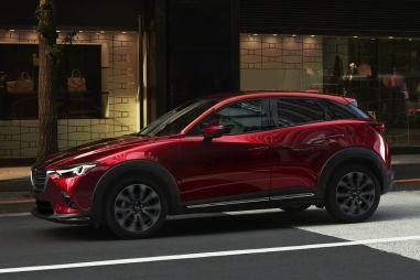 В Нью-Йорк привезли обновленную Mazda CX-3