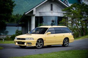 Народное ретро. Subaru Legacy GT-B BG5 1996года. Пораллийным заветам