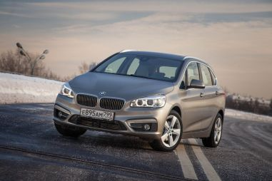 Тест-драйв BMW 218i Active Tourer. АнтиBMW, или Не наш вариант