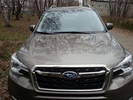 Subaru Forester 2017 - отзыв владельца