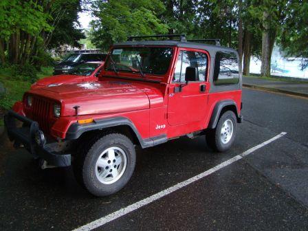 Jeep Wrangler 1994 - отзыв владельца