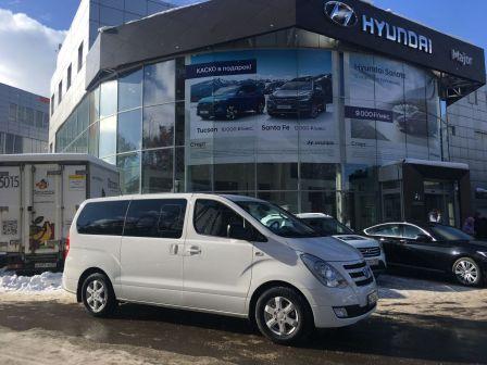 Hyundai H1 2017 - отзыв владельца