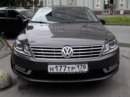 Volkswagen Passat CC 2012 - отзыв владельца