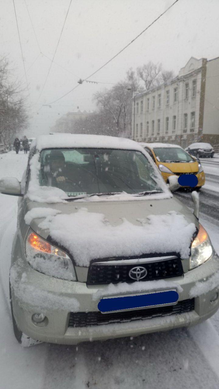 Первый снег во Владивостоке, 17.11.2017г.