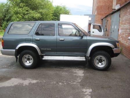 Toyota Hilux Surf 1991 - отзыв владельца