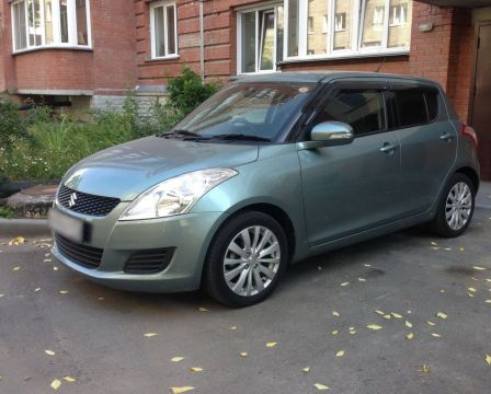 Suzuki Swift 2010 - отзыв владельца