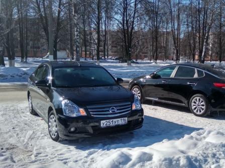 Nissan Almera 2015 - отзыв владельца