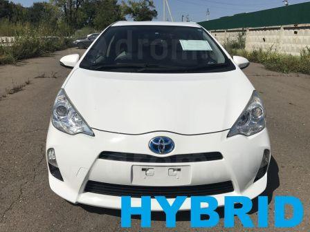 Toyota Aqua 2013 - отзыв владельца