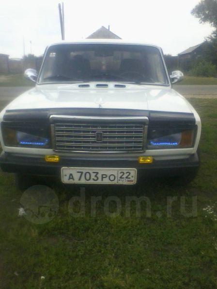 Лада 2107 1992 - отзыв владельца