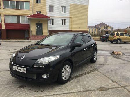 Renault Megane 2012 - отзыв владельца