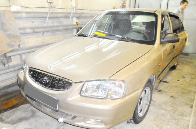 Hyundai Accent, 2003 год, 70 000 руб.