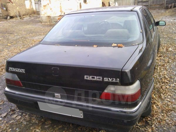 Peugeot 605, 1991 год, 40 000 руб.