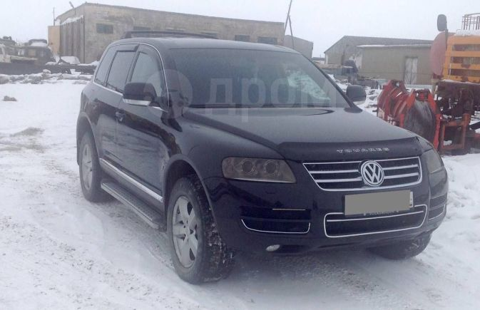 Volkswagen Touareg, 2004 год, 1 200 000 руб.