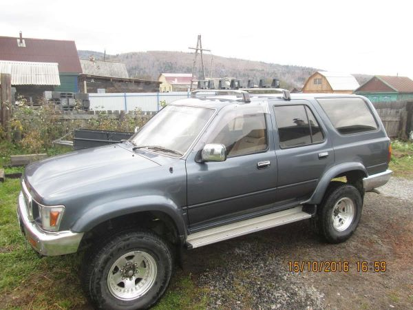 Toyota Hilux Surf, 1991 год, 245 000 руб.