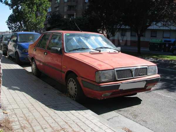 Lancia Thema, 1986 год, 355 000 руб.