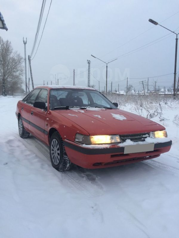 Mazda 626, 1990 год, 75 000 руб.