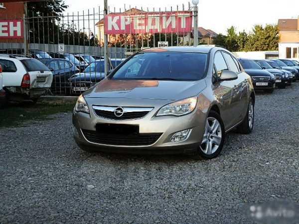 Opel Astra, 2012 год, 545 000 руб.